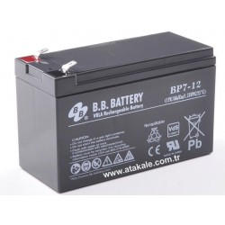 12V 7AH VRL Maintanance Free Battery