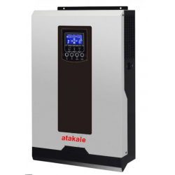 Atakale 3Kw Off-Grid Smart Solar Energy  Inverter UPS PWM  24V